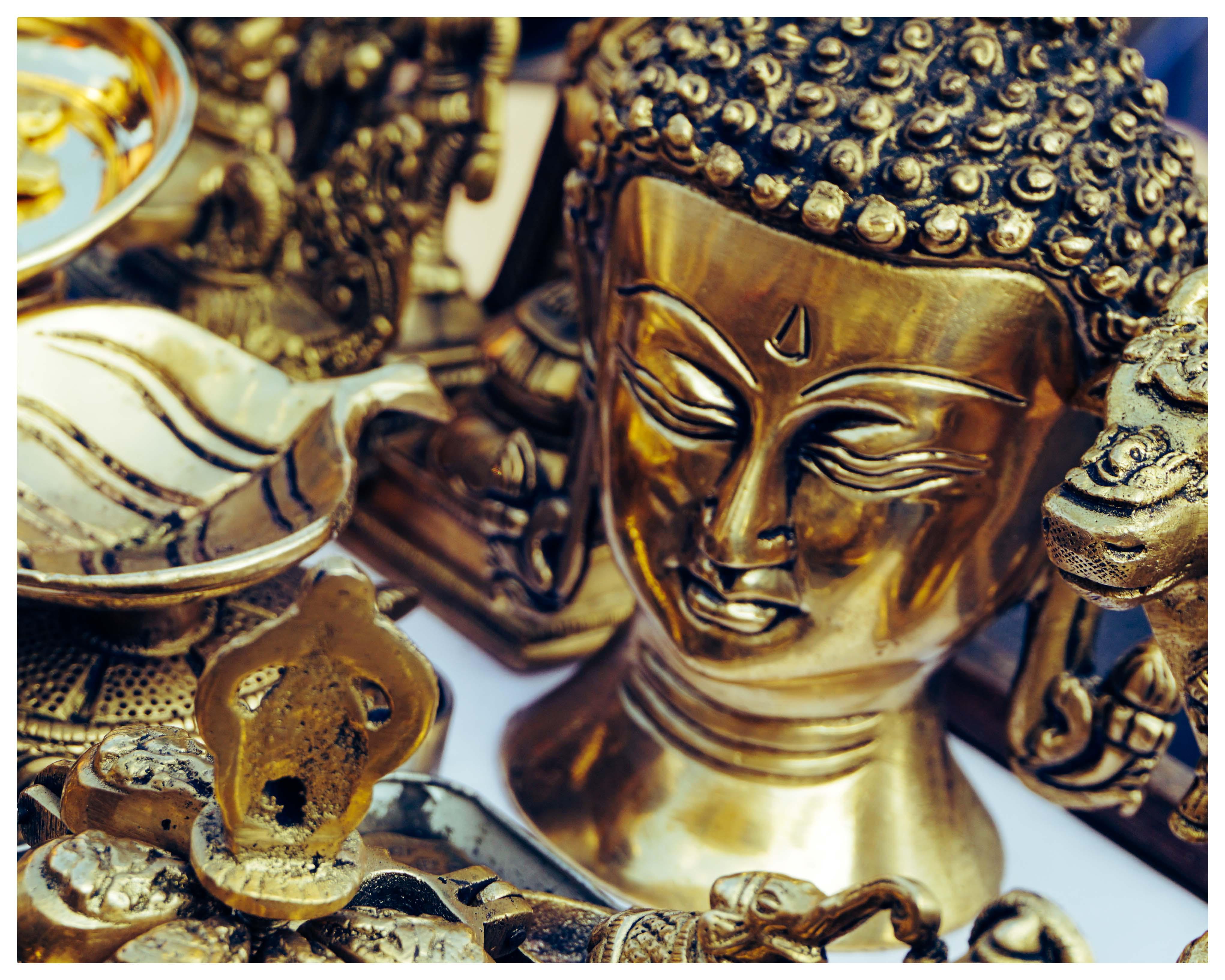 Buddha Statue Brass