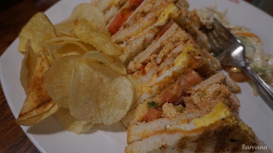Club Sandwich Non Veg Truffles