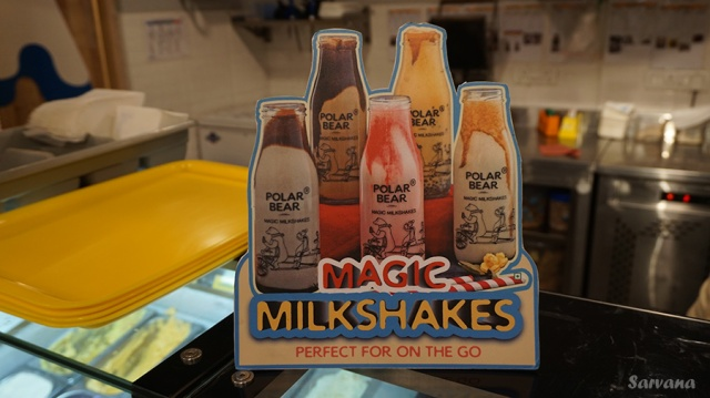 Creative -Magic Milk Shakes