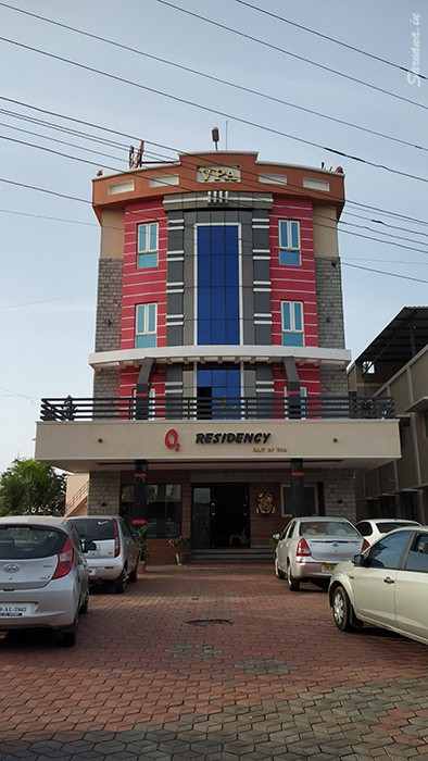 O2 Residency front view