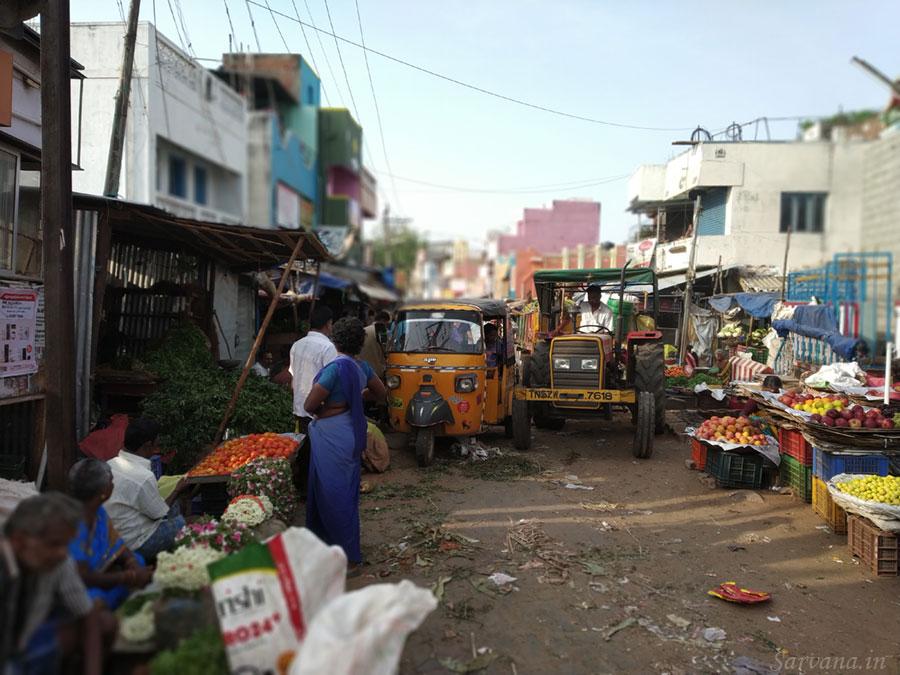 Auto rickshaw & tractor