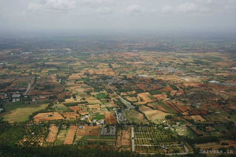 View from Nandi Hills Bangalore