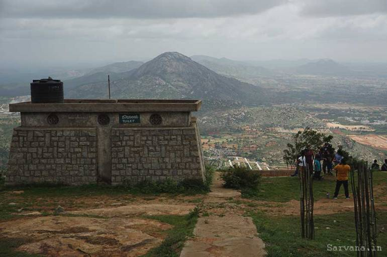 Beautiful view from Nandi Hills