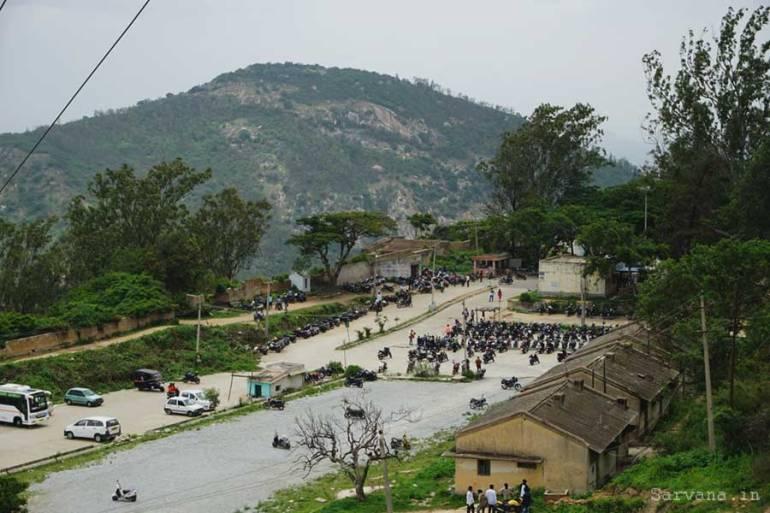 Nandi Hills Parking