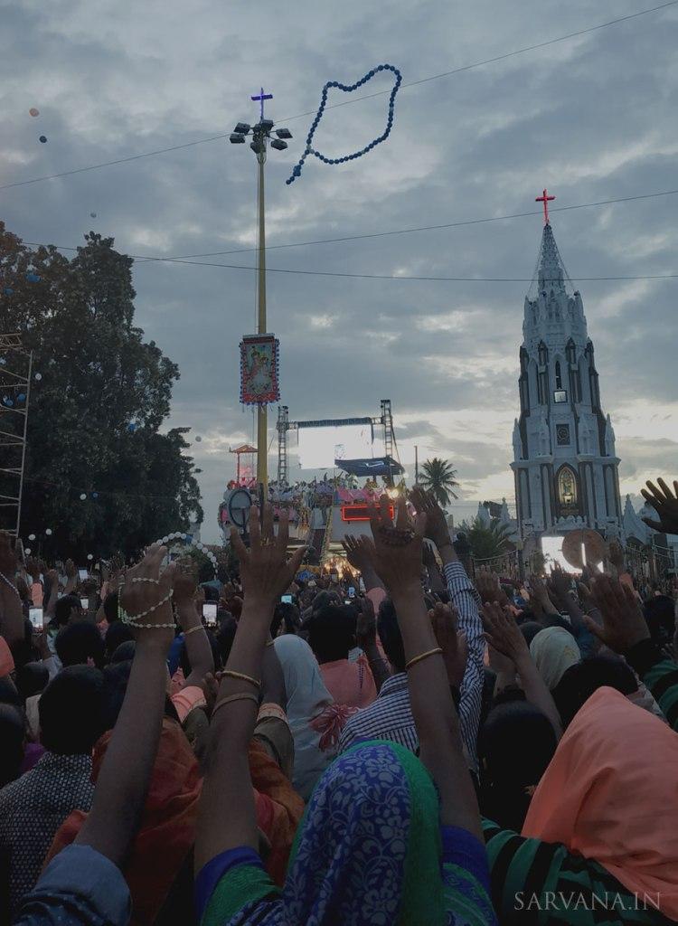 St Mary's Flag Hoisting